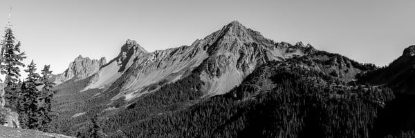 Mount Larrabee and American Border Peak, North Cascades, Washington, 2015