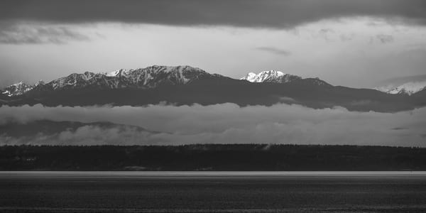 Olympic Mountains, Fort Casey State Park, Washington, 2014