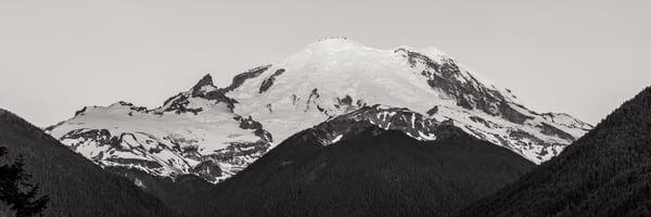Mt Rainier Panorama, Highway 410, Washington, 2014
