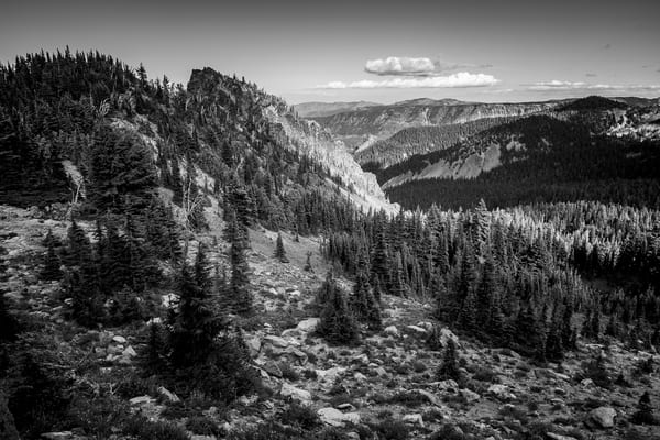 Views from the Pacific Crest Trail, White Pass, Washington, 2017