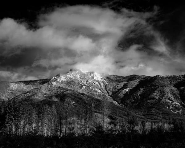 Winter, Storm King Mountain, Lewis County, Washington, 2020