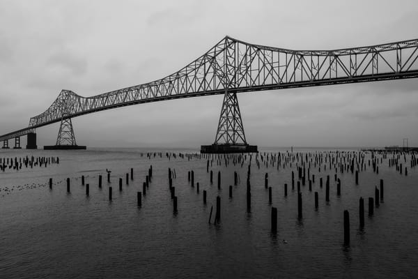 Astoria-Megler Bridge, Astoria, Oregon, 2019