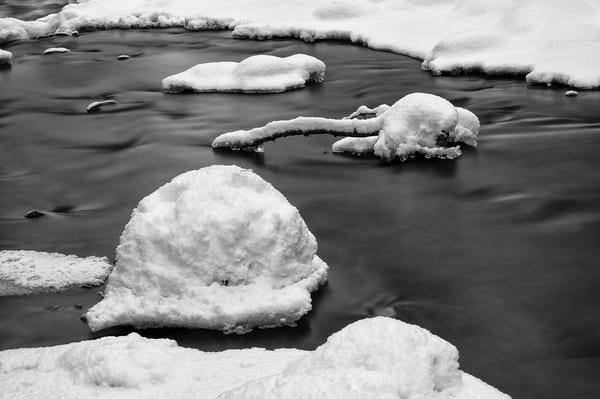 First Winter Snow, Manastash Creek, Washington, 2012