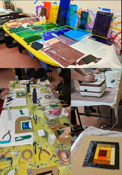 Stained Glass Workshop with Natasha Bogar.