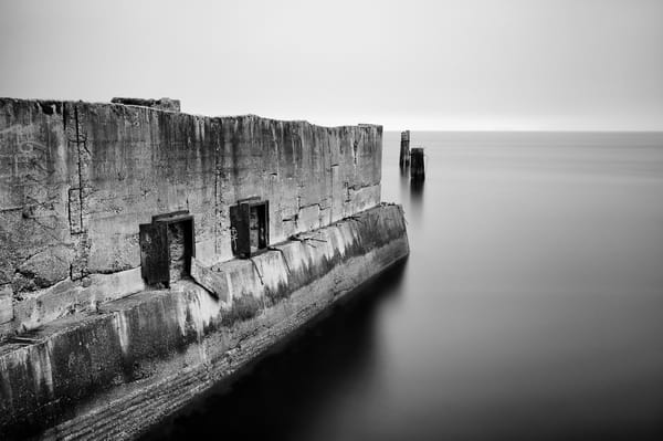 Concrete Ruins on the Puget Sound, Tacoma, Washington, 2014