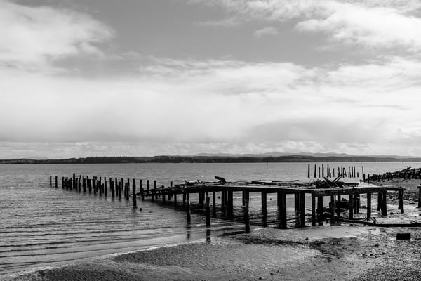 Old Dock, Tokeland, Washington, 2017