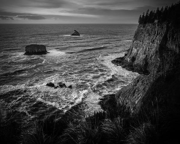 Pacific Ocean, Cape Meares, Oregon, 2020