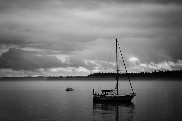 Sailboat, Port Townsend, Washington, 2014