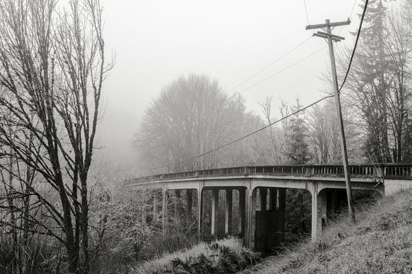 Bridge, Highway 6, Pe Ell, Washington, 2015