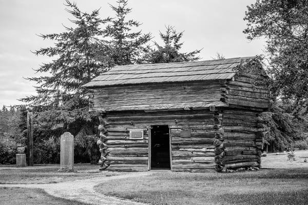 Davis Blockhouse, Whidbey Island, Washington, 2015