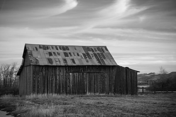 Old Barn, Kittitas County, Washington, 2011
