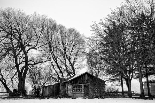 Log Cabin. Olmstead Place State Park, Kittitas County, Washington, 2013