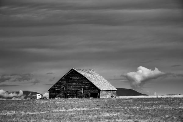 Old Barn & Truck, B Rd NW, Douglas County, Washington, 2013