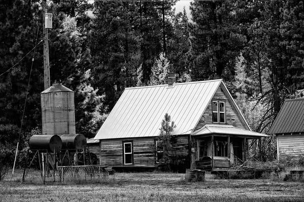 Old Farmhouse, Upper Peoh Point Rd, Kittitas County, Washington, 2012
