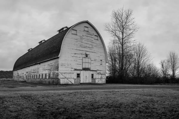 Old Barn, Nisqually, Washington, 2016