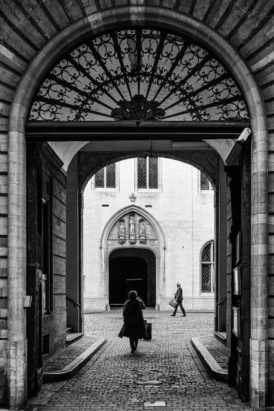 Archway Rue de I'Etuve, Brussels, Belgium, 2018