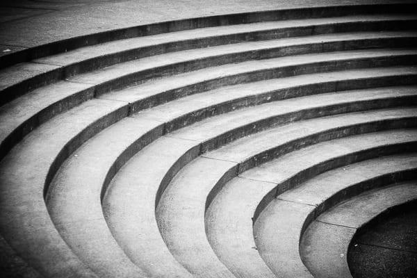 Curving Steps, Seattle, Washington, 2008