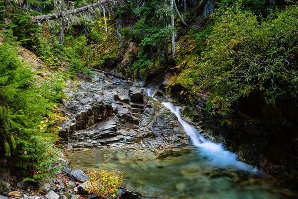 Waterfalls, Copper Creek, Washington, 2016