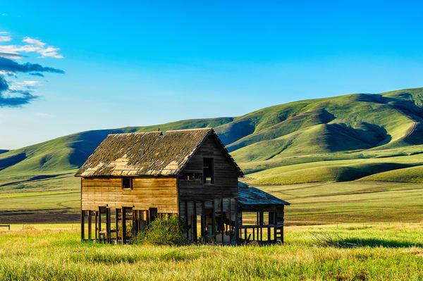 Abandoned Farm House, Yakima County, Washington, 2013