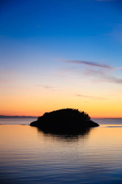 August Sunset, Deception Island, Deception Pass State Park, Washington, 2016