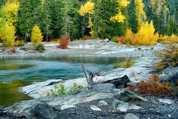 Autumn Colors Along the Cle Elum River, Washington, 2013