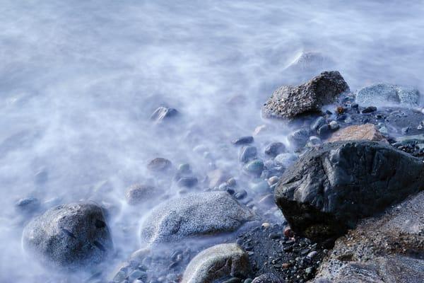 Beach Rocks, Hastie Lake Boat Launch, Whidbey Island, Washington, 2016