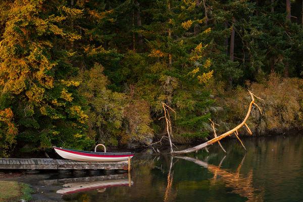 Boat, Kennedy Lagoon, Coupeville, Washington, 2016