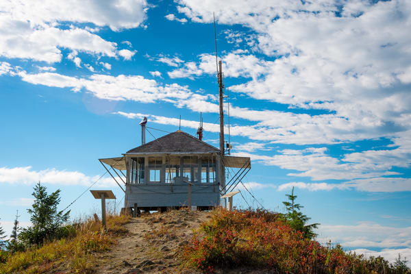Burley Mountain Lookout, Washington, 2016