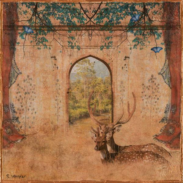 I Remember India No 9 Art | Sondra Wampler | fine art