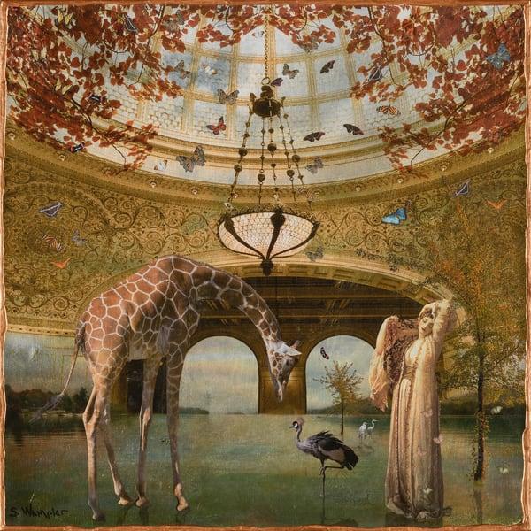 Dorthy Dene In Paradise After Frederick Leighton Art | Sondra Wampler | fine art