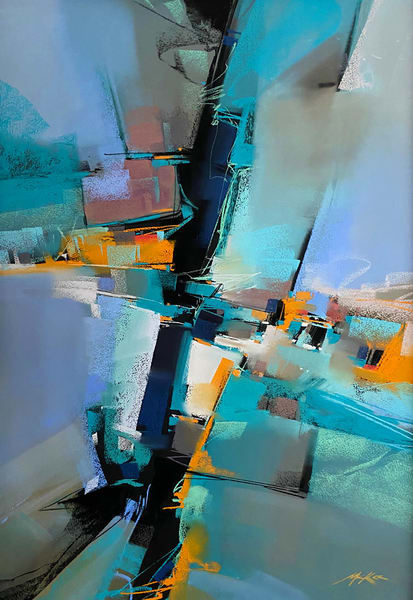Cerulean Song Art | Michael Mckee Gallery Inc.