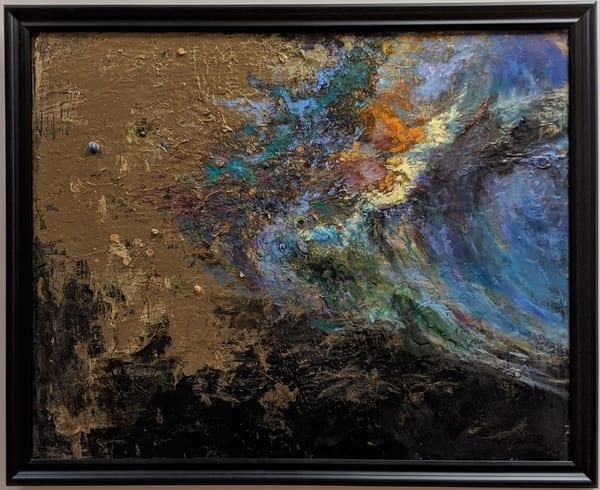LaMont Sudduth - interstellar art - science fiction - Beyond the Fabric of Time
