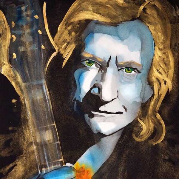 Joe Walsh Coaster Art | William K. Stidham - heART Art