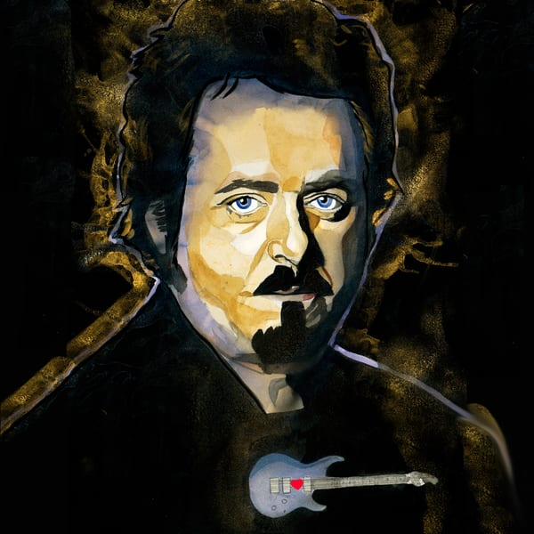 Steve Lukather   Coaster Art | William K. Stidham - heART Art