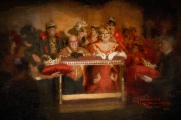 The successors to the queen mother and father,