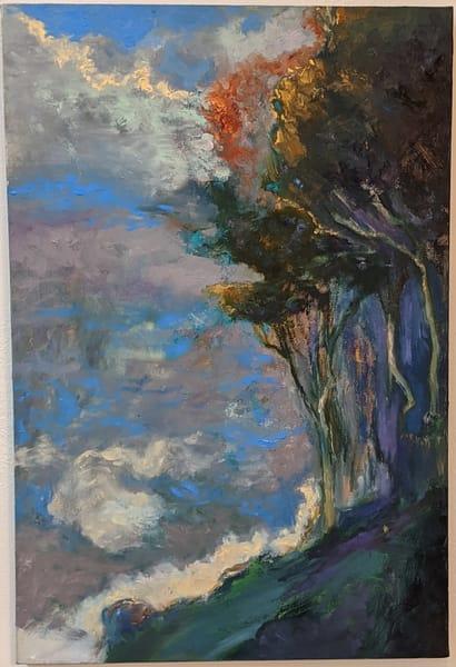 LaMont Sudduth - impressionistic landscape - Higher Ground