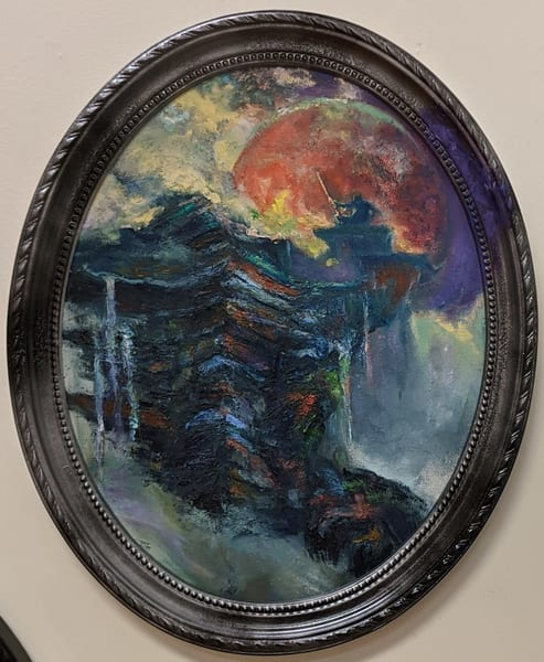 LaMont Sudduth - futuristic art - It's Not the Mountains We Conquer But Ourselves