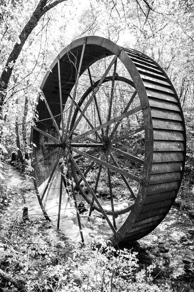 Turner's Mill Water Wheel