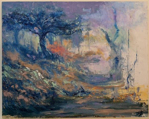 LaMont Sudduth - impressionistic landscape