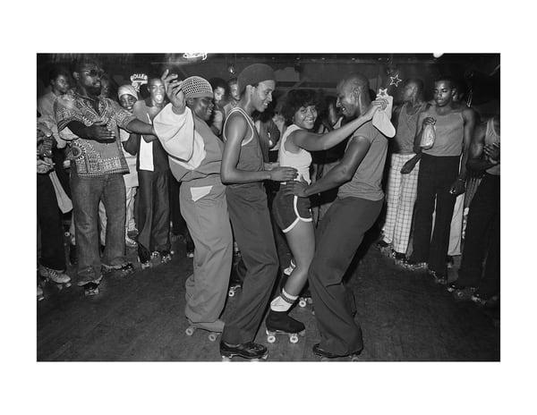 Empire Roller Disco, Foursome, 1979 Photography Art   Bill Bernstein Fine Art Collection