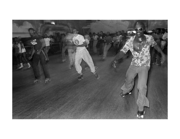 Empire Roller Disco, 1979 Photography Art | Bill Bernstein Fine Art Collection