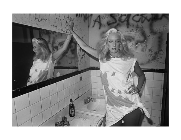 The Mudd Club, Bathroom, 1979 Photography Art   Bill Bernstein Fine Art Collection