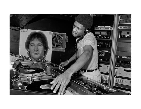 Paradise Garage Dj Larry Levan, 1979 Photography Art | Bill Bernstein Fine Art Collection