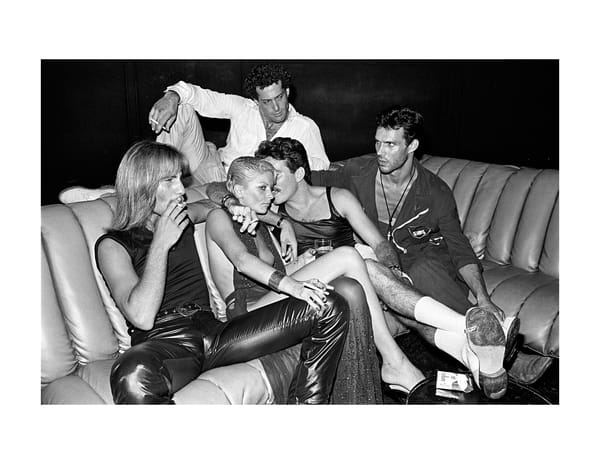 Studio 54 Couch,1979 Photography Art | Bill Bernstein Fine Art Collection