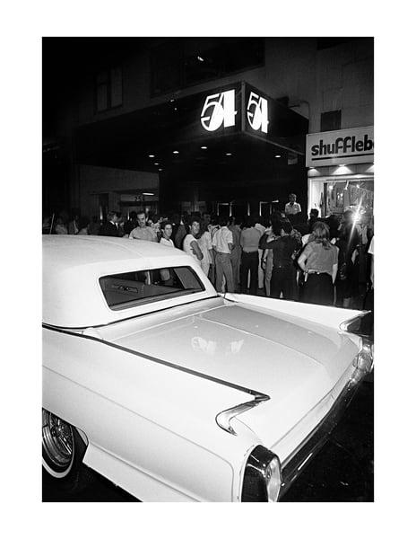 Studio 54, Cadilac 1979 Photography Art | Bill Bernstein Fine Art Collection