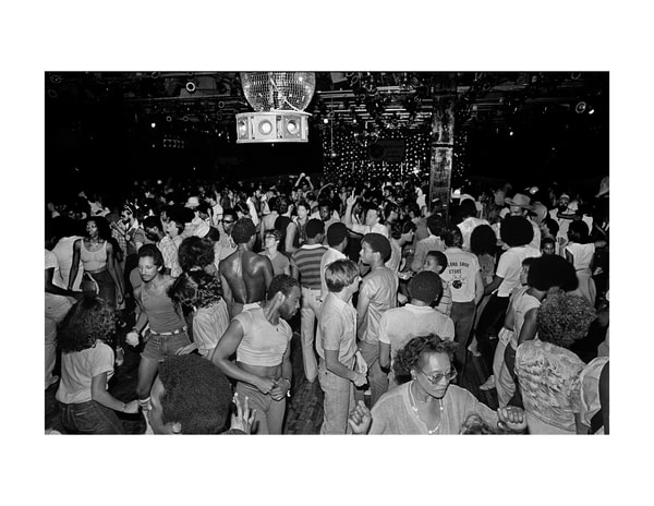 Paradise Garage Dance Floor, 1979 Photography Art | Bill Bernstein Fine Art Collection