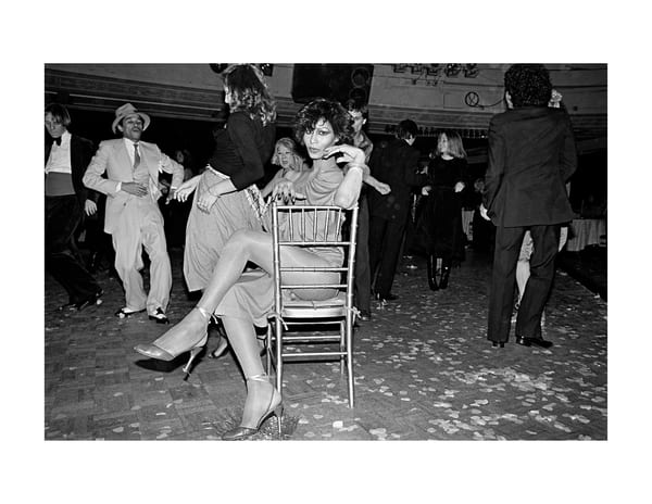 Studio 54, Chair,1977 Photography Art | Bill Bernstein Fine Art Collection