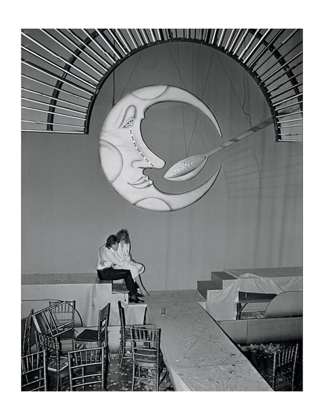 Studio 54, Moon & Spoon, 1977 Photography Art | Bill Bernstein Fine Art Collection