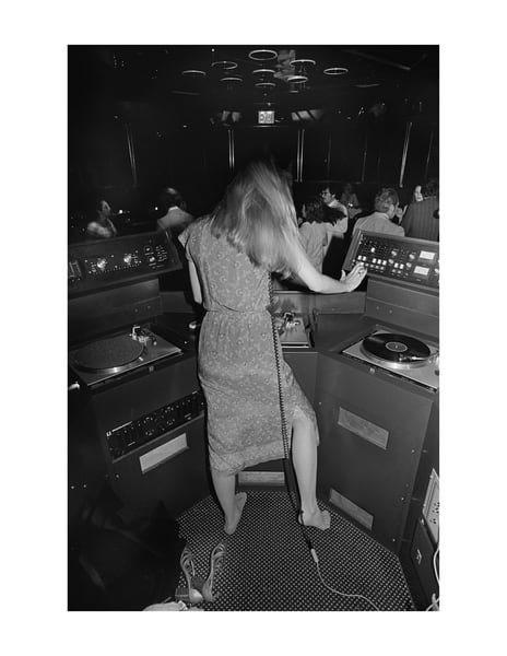 Sybil's Dj, 1978 Photography Art   Bill Bernstein Fine Art Collection