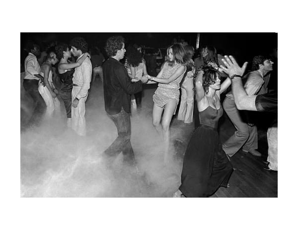 Xenon, Smoking Dance Floor,1979 Photography Art | Bill Bernstein Fine Art Collection